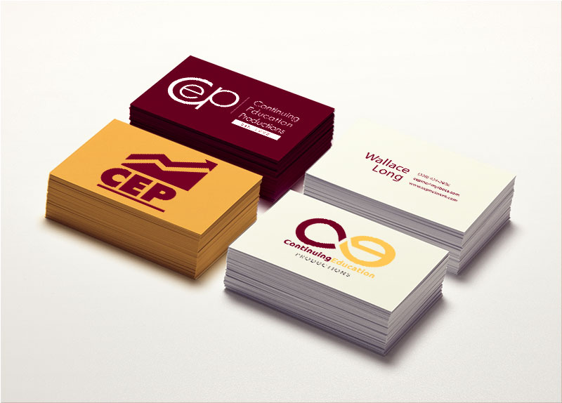CEP business card mockup
