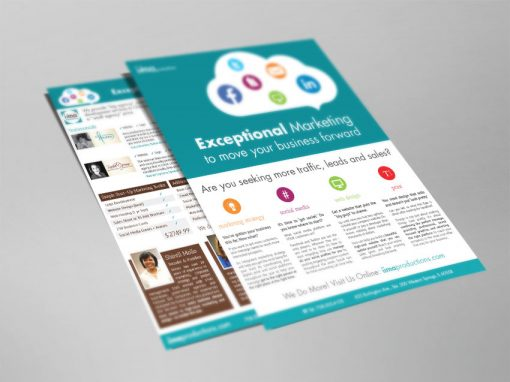 Flyer / Sell Sheet Design