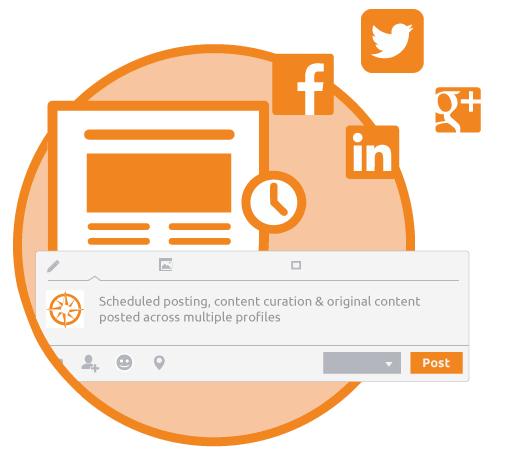 social profile management service