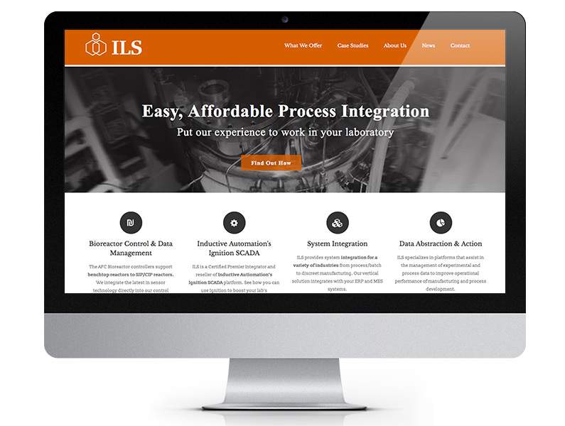 ILS Automation WordPress website design