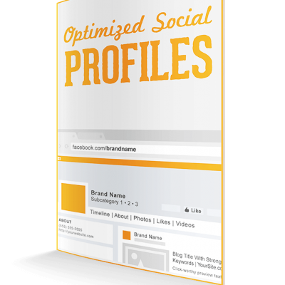 optimized social media profiles