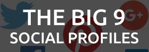 the big 9 social profiles