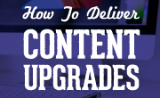 how to deliver content upgrades without leadpages small