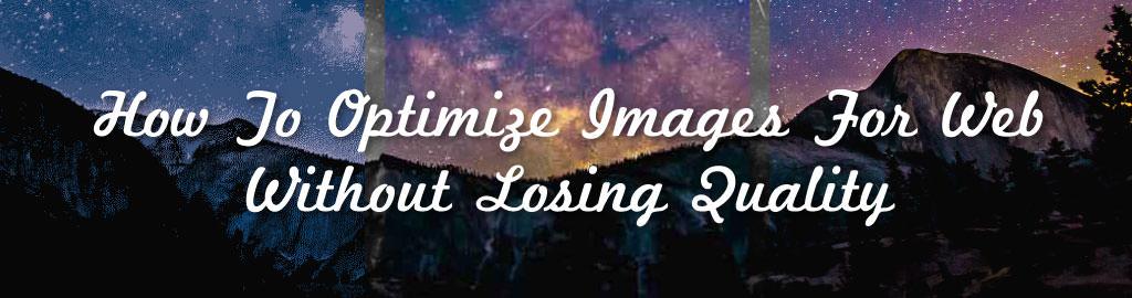 optimize images blog banner