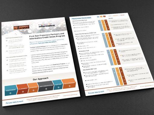Sell Sheet Design: Print and Digital